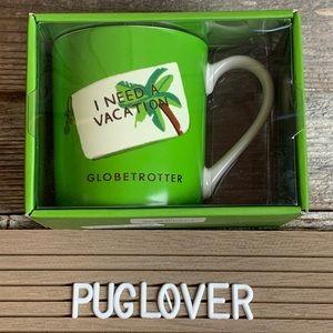 "New! KATE SPADE ♠️ Lenox Mug ""Globetrotter"" 🎁"